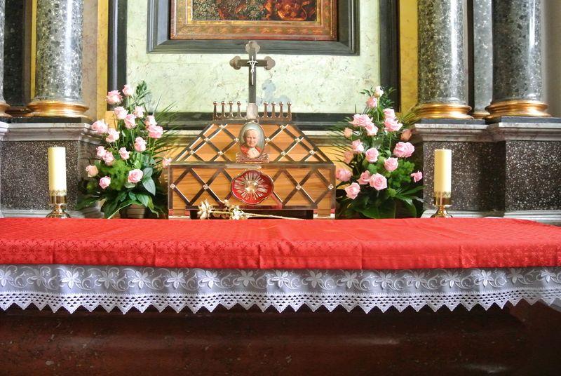 Kaplica Matki Boskiej - Relikwie JPII
