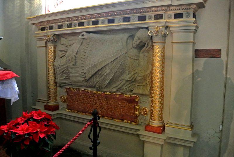 Kaplica Matki Boskiej -nagrobek Jakuba Prądzewskiego