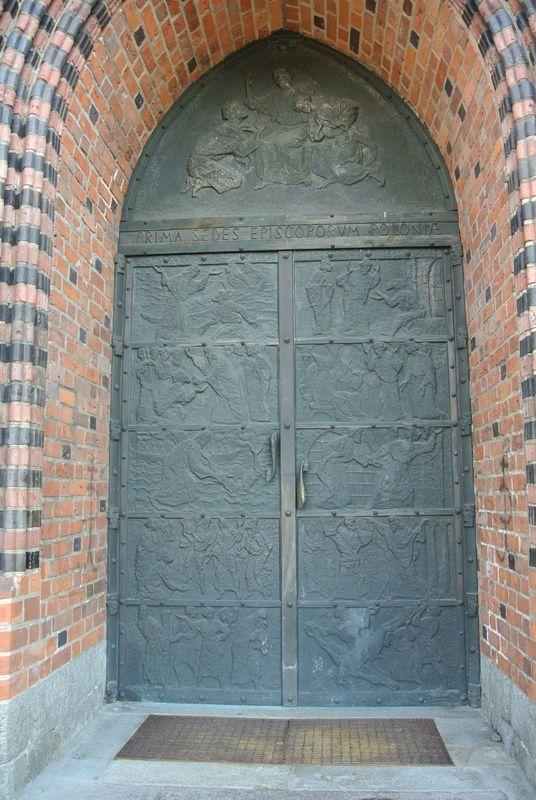 Portal zewnątrz -brama
