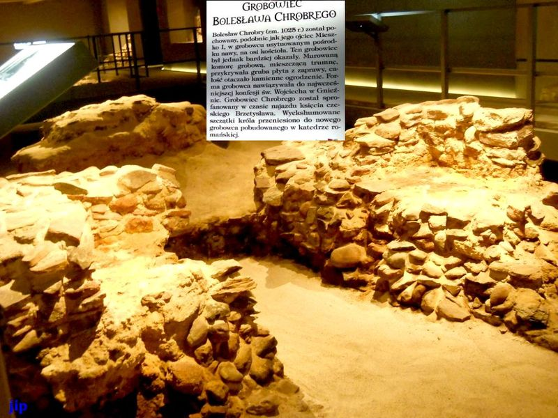 Prawdopodobny grobowiec Chrobreg
