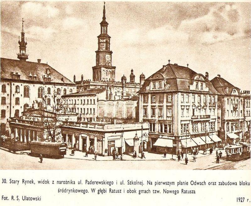 Stary Rynek 1927r
