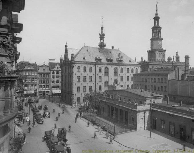 Stary_Rynek_w_Poznaniu_1934_