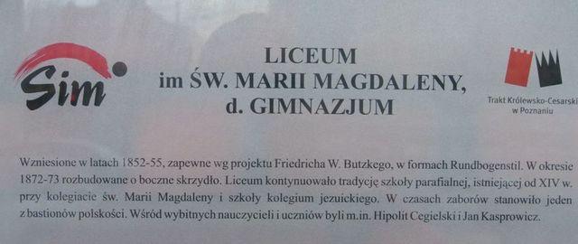 5 Liceum św. Marii Magdaleny