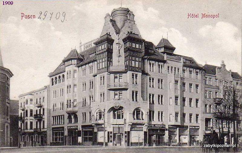 Hotel Monopol - 1909 rok