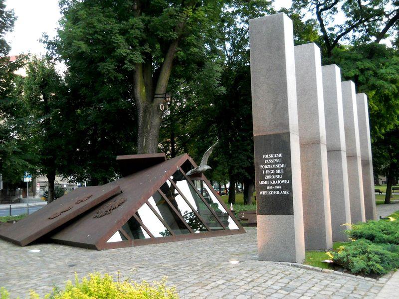 Pomnik Polskiego Państwa Podziemnego i AK2 Kopia
