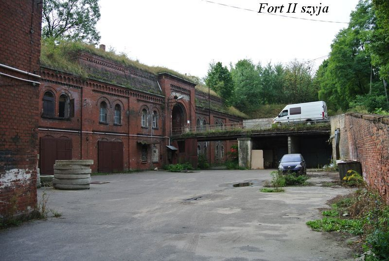 Fort II szyja