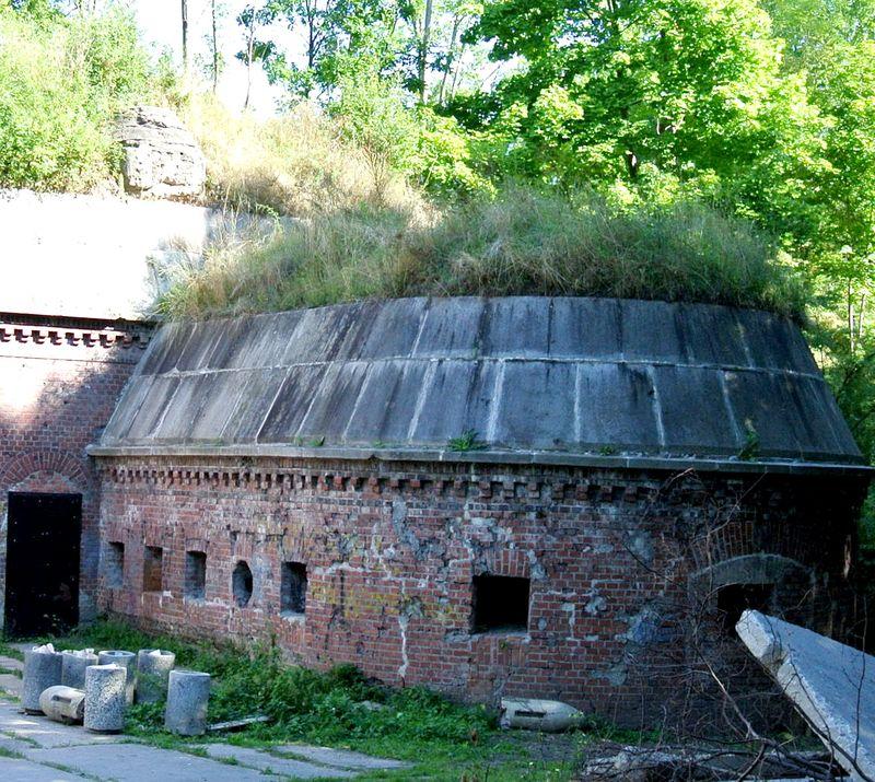 Fort Va Kaponiera szyjowa 1