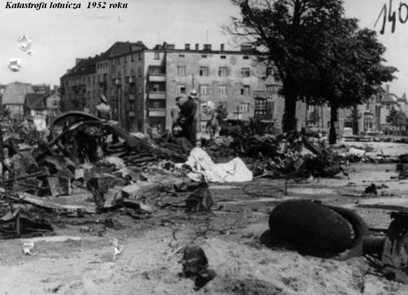 Katastrofa lotnicza  1952 roku 2