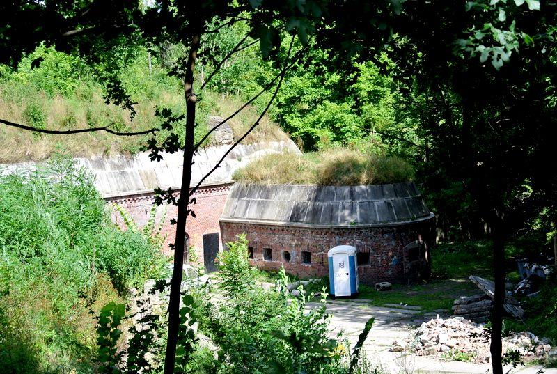 fort Va kaponiera szyjowa