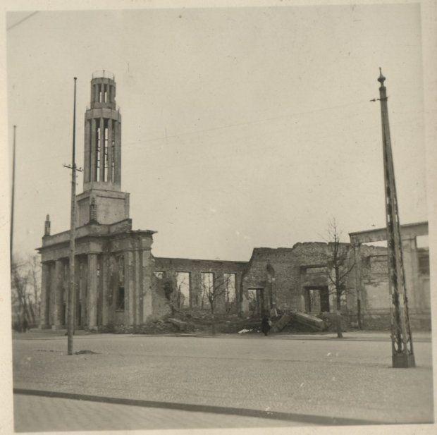Po wojnie hala reprezetacyjna