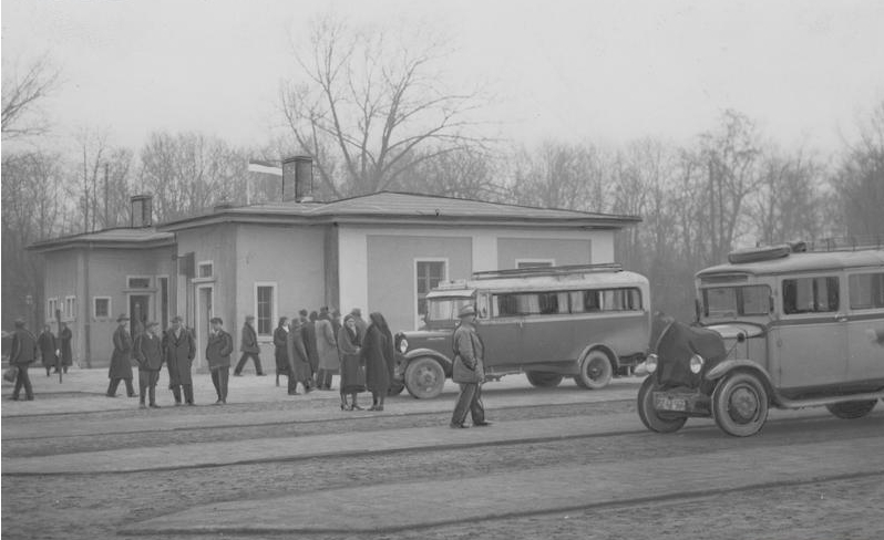 budynek dworca 1932r