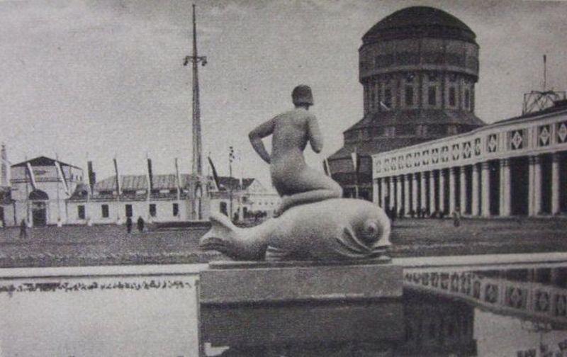 fontanna Akt z delfinem1