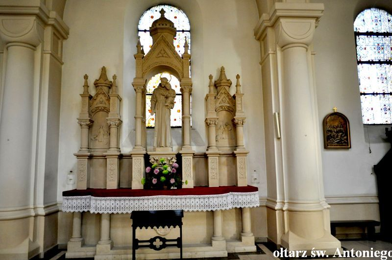 Ołtarz św. Antoniego Padewskiego Kopia