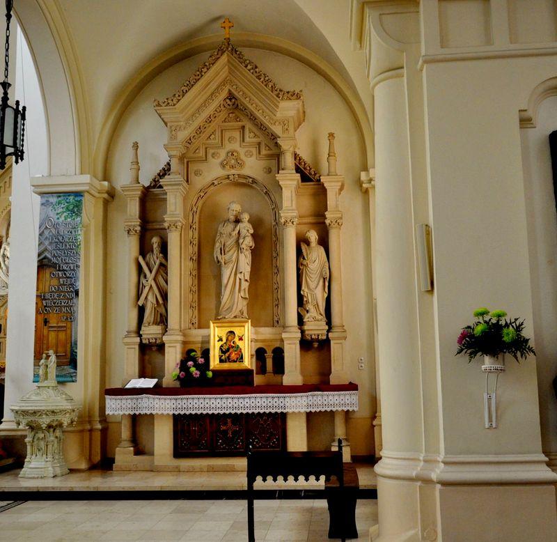 Ołtarz św. Józefa1 Kopia