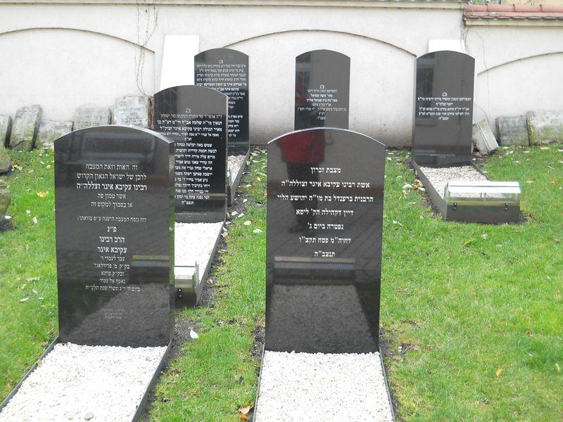 Ul. Głogowska - Macewa rabina Egera 7