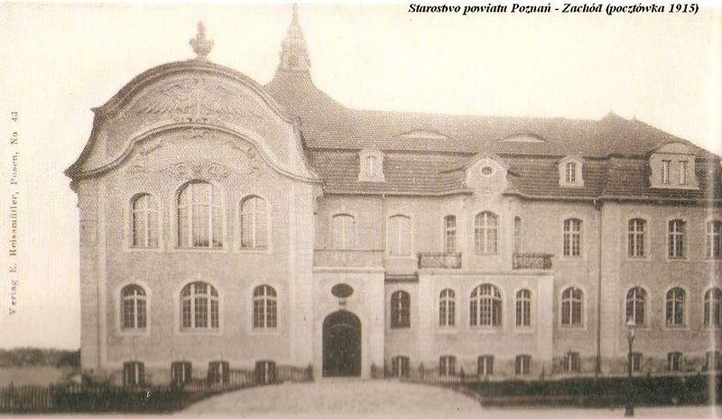 Starostwo powiatu  Poznań - Zachód
