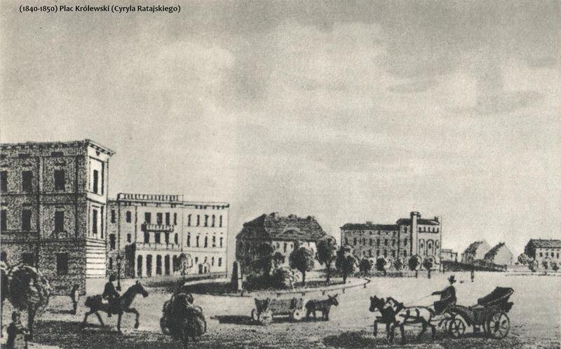 plac-krolewski-1840-1850-001 Kopia