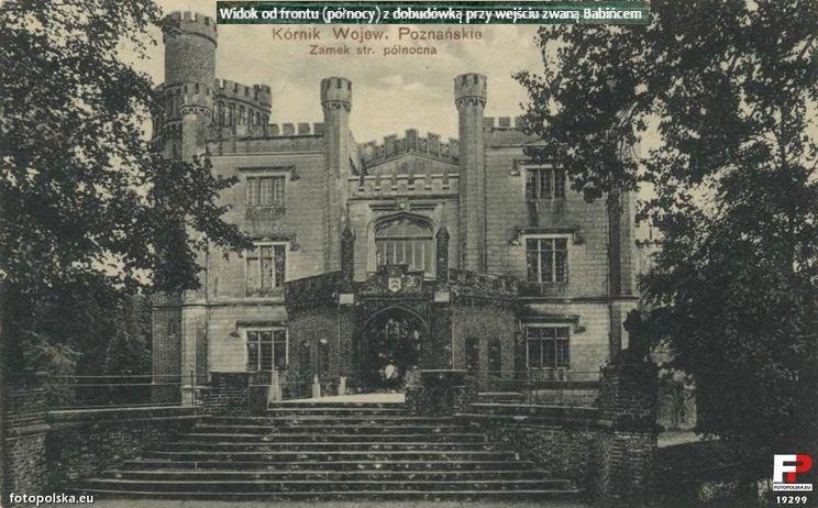 1910-1920 Zamek w Kórniku