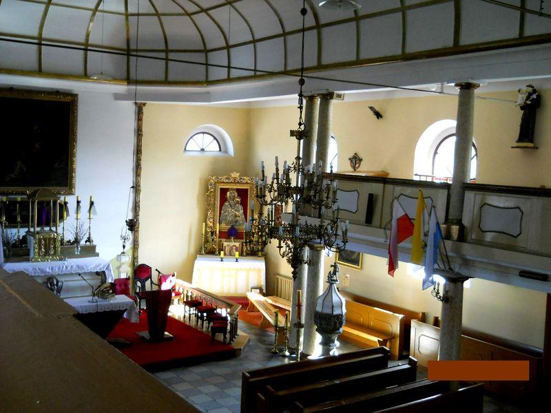 Kościół św.Wojciecha wnętrza 3