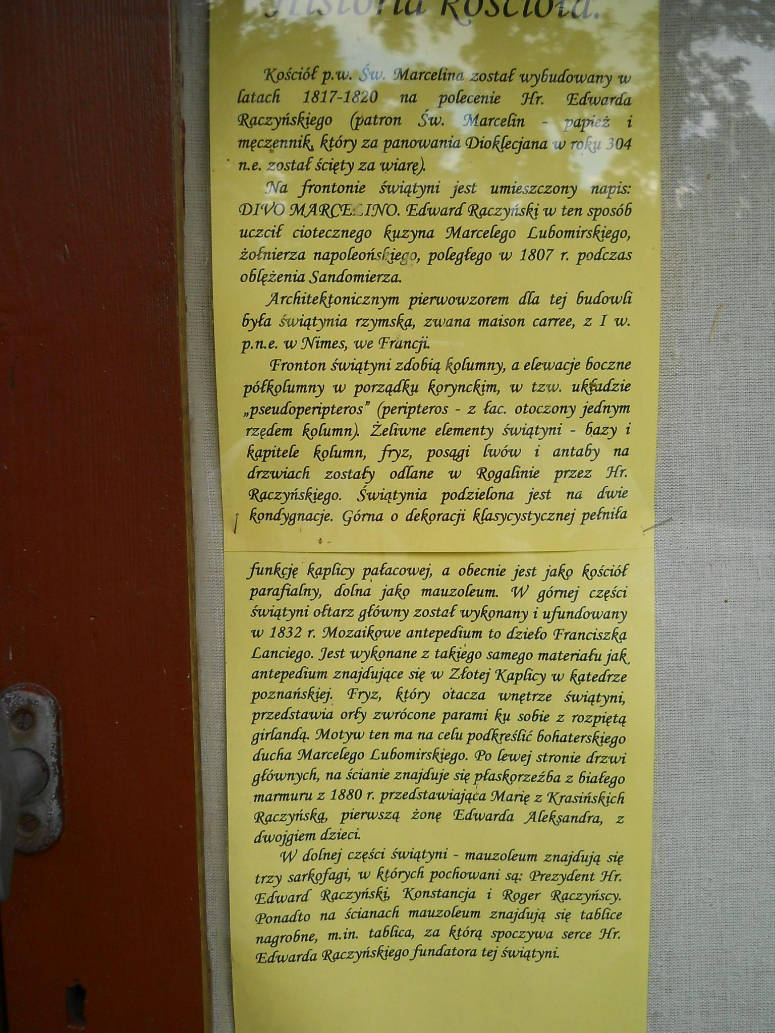 0a Kaplica pw. Świętego Marcelina